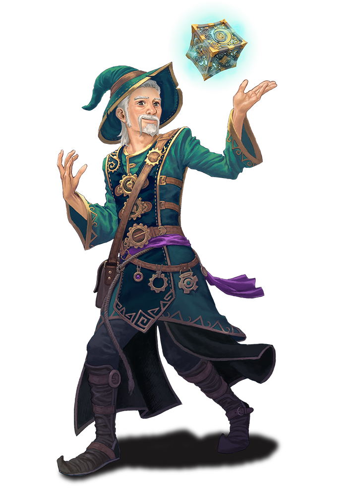 Nine Parchments - Amadeus the Wizard