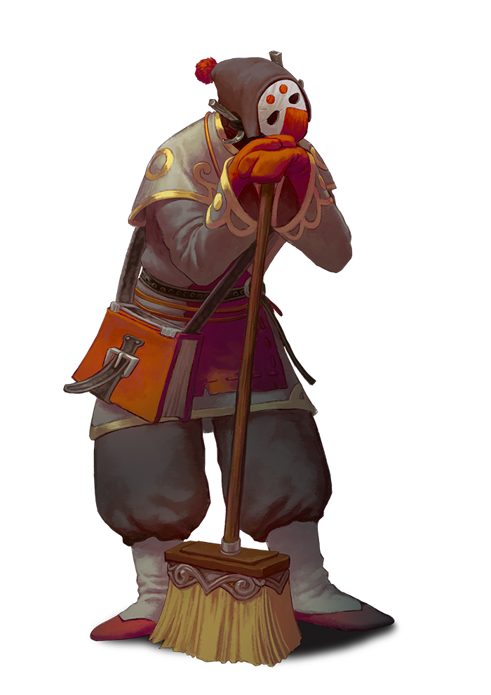 Nine Parchments - Nim the Cleaner