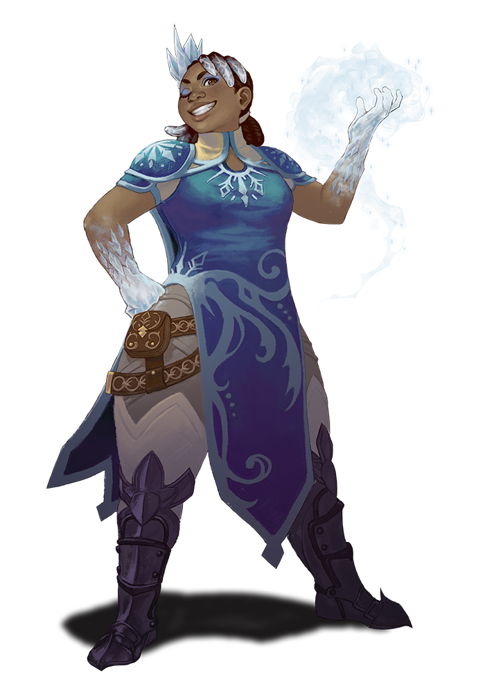 Nine Parchments - Carabel the Glacial