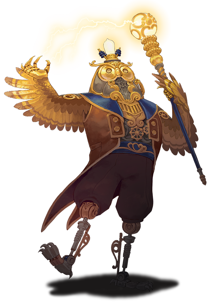 Nine Parchments - Owl